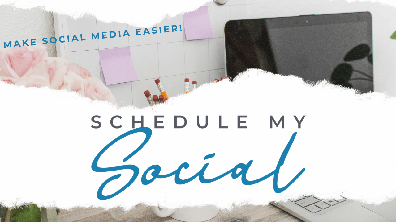 schedule my social header graphic